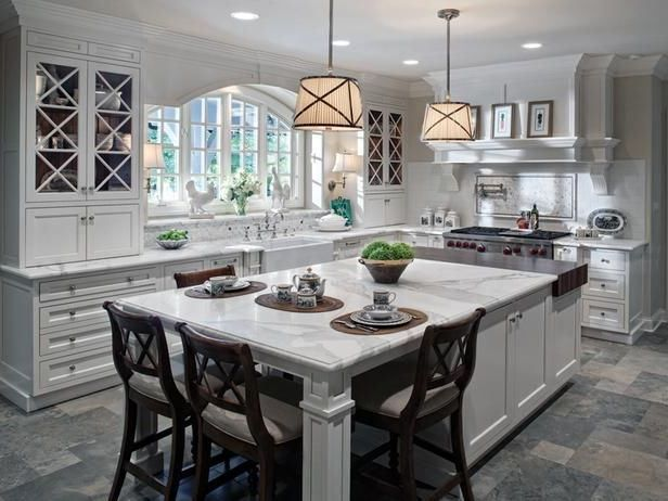 white kitchen island design island seating island leg post design white  marble countertops butcher block island