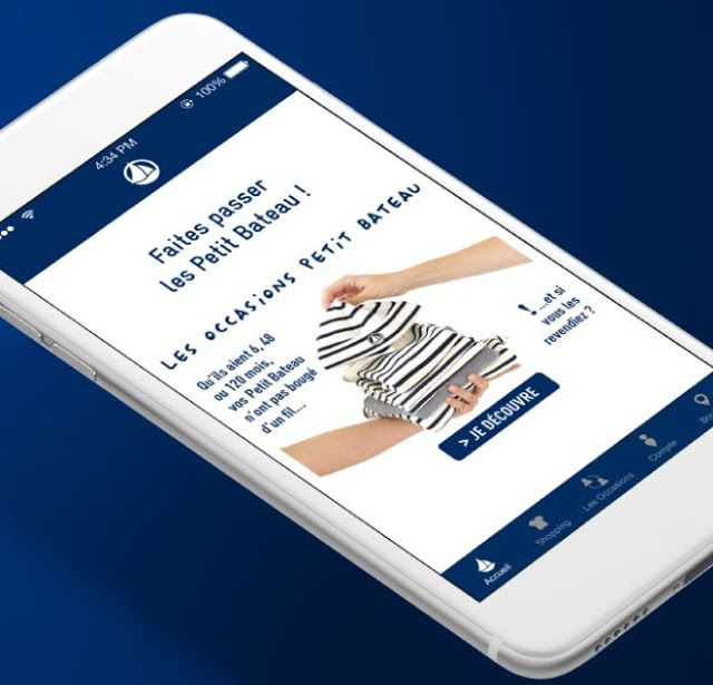 Moda Bimbi: Petit Bateau fa spazio all'Usato in App