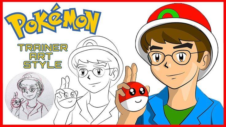 How to draw pokemon style draw yourself as a pokemon
