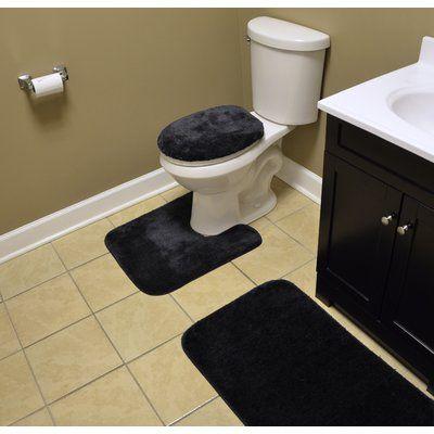 Andover Mills Fresnel 3 Piece Bath Rug Set Bathroom Rug Sets Bathroom Rugs Rugs