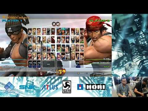 King Of Fighters XIV Evo 2016 Practice sessions