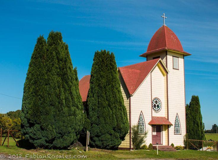 Church in Rio Pescado, Puerto Varas - Chile