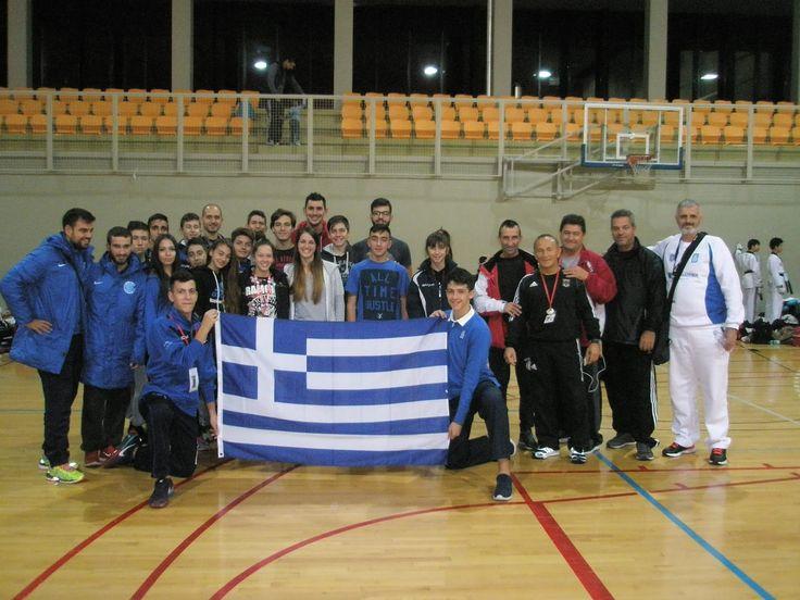 Το ανοικτό διεθνές πρωτάθλημα Taekwondo WTF διεξήχθη στη VarazdinΚροατίας ( Croatia Open G1 ) στις 7-8 Νοεμβρίου 2015.Η συμμετοχή ανερχόταν στους 1600 αθλητές-ριες με ηλικιακές κατηγορίεςCadet, ...