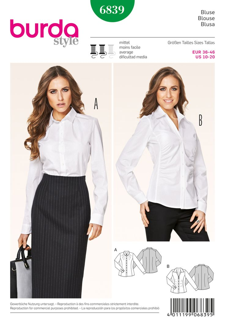 Stripe Tie, Blouse Femme, Blanc (White Pattern 19), 36New Look
