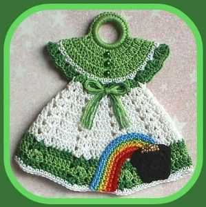 I am looking for this pattern. Please I am willing to purchase if anyone has this pattern. crochet kitchen dress up pot holder