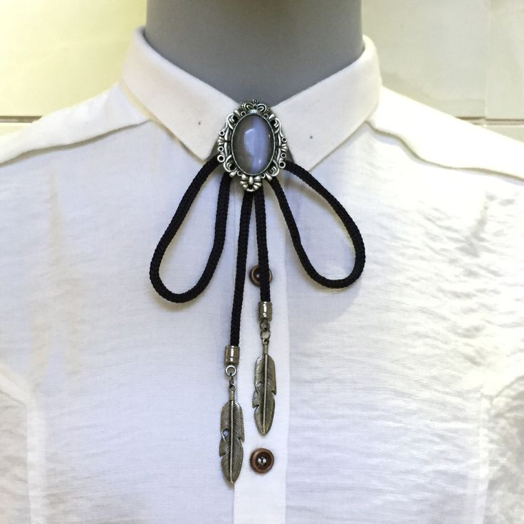 Good Accessories Bola Tie Cowboy Style Bolo Tie Men's Neck Tie Shoestring Necktie Men Jewelry Vintage Bolo Necklace Ties for Men