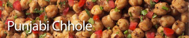 Punjabi chhole - Indian spiced chick pea salad