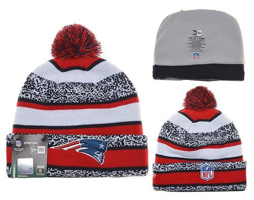 New England Patriots knit beanie