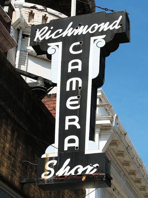 Richmond Camera Shop, 121 E. Grace St., Richmond VA   Richmond ...