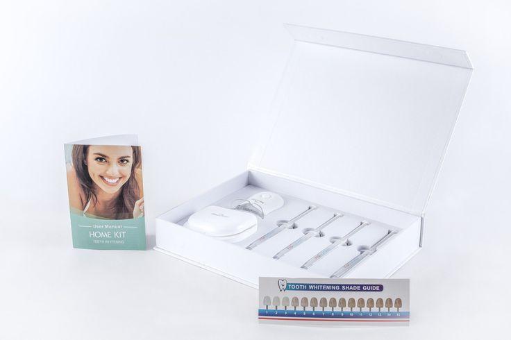 Non-Peroxide Teeth Whitening, Home Teeth Whitening Kit #whitesmile
