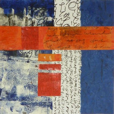 The Good Life Jo Reimer Mixed Media collage