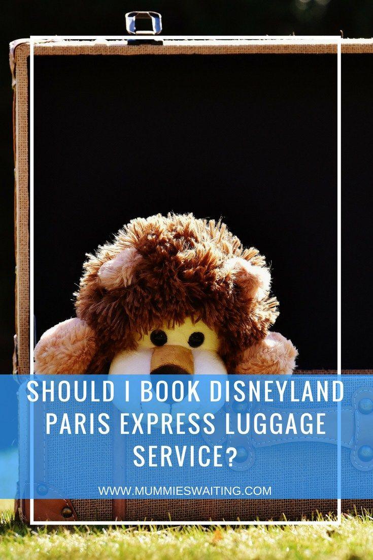 Should I book Disneyland Paris Express Luggage service_