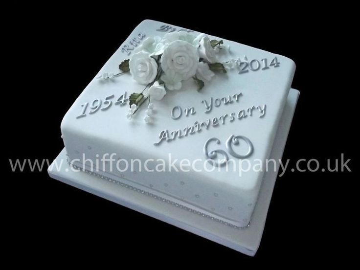 Image result for 60th anniversary cakes