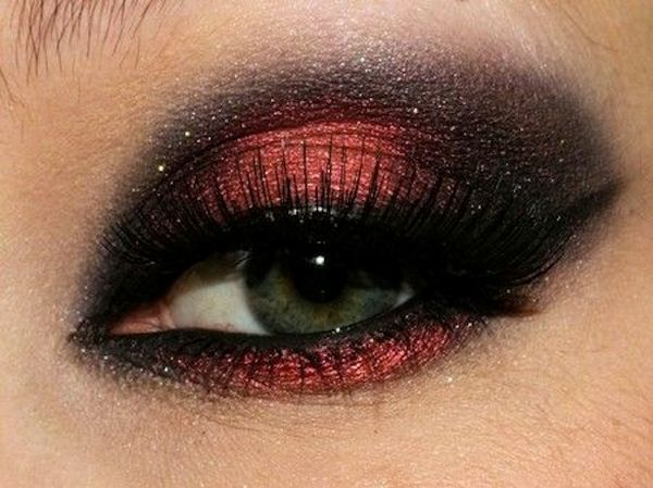 How To Do Smokey Eyes Red Eyes Super Hot