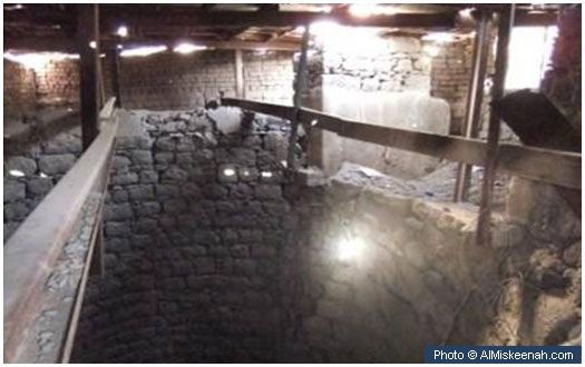 Al-Ghars well Located approximately one kilometer north of Masjid Quba, the Al-Ghars well was a place from which the Prophet (peace and blessings of Allah be on him) drank and made a request that he be bathed with its water after his demise.