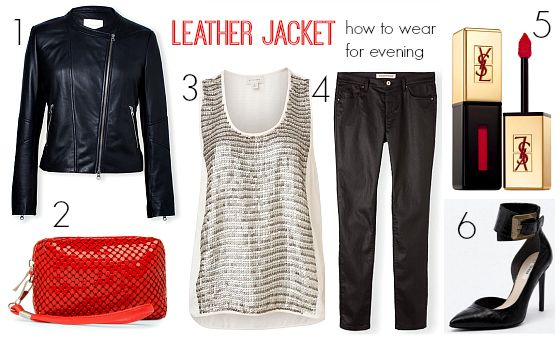 How to wear a leather jacket (and look good doing so, says HowToConsign.com !)