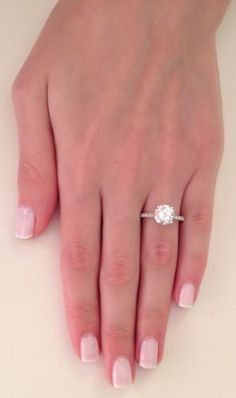 1 carat cushion cut engagement rings - Google Search