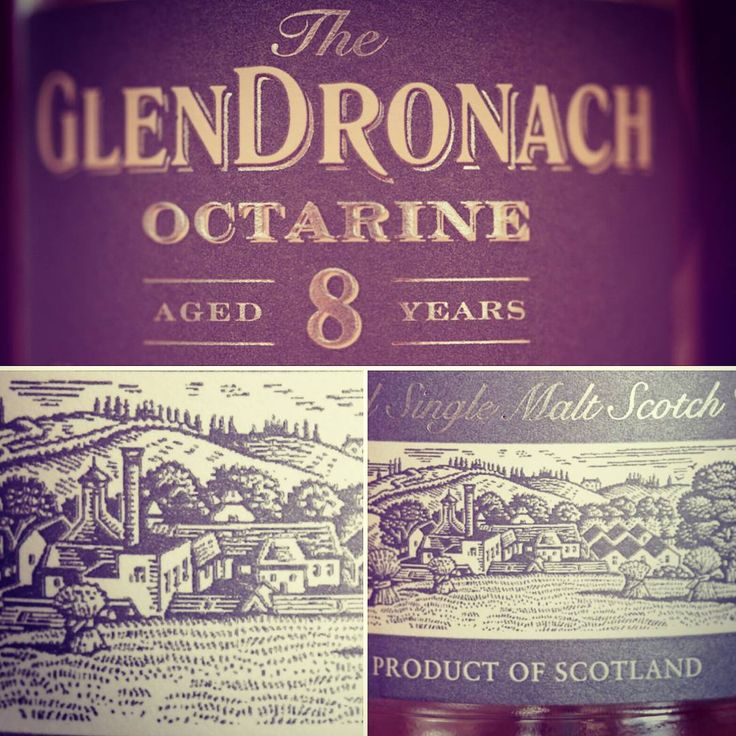 WhisReview #14 // Glendronach Octarine 8 years, 46% // Nose: Raisins preserved in alcohol. Milk chocolat (Ferrero kinder Riegel), candied condensed milk (Milchmädchen), marzipan and orange juice. What a great dram for the price it had when it came out. // Follow the link, to read the whole tasting notes. // #whisky #tasting #whiskytasting #scotland #scotch #maltwhisky #whiskey #whiskylover #chocolate #sherry #whiskygram #lazysunday #sundaymood #glendronach #octarine #speyside