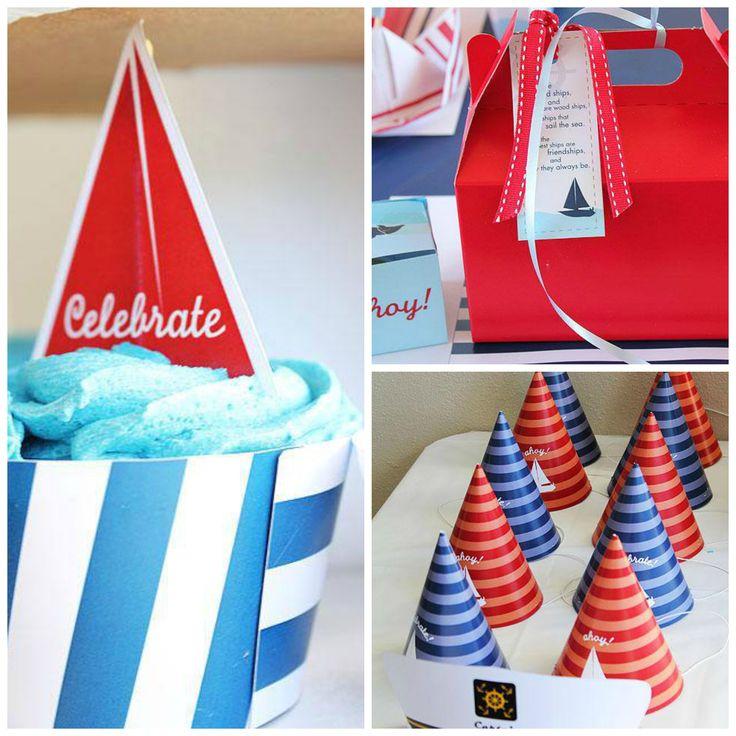 Sailboat Party Supplies. Contact Such Fun...www.suchfun.co.za