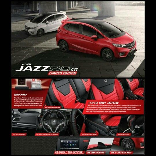 Jazz RS CVT Limitted Edition