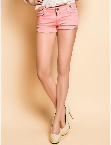 Джинсовые розовые шорты