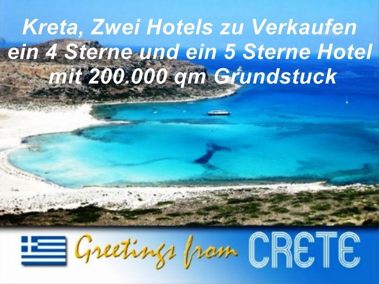 2 Luxus Hotels zu Verkaufen in Kreta