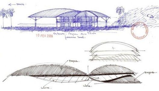 Projetos profissional casa folha vitruvius for Croquis de casas