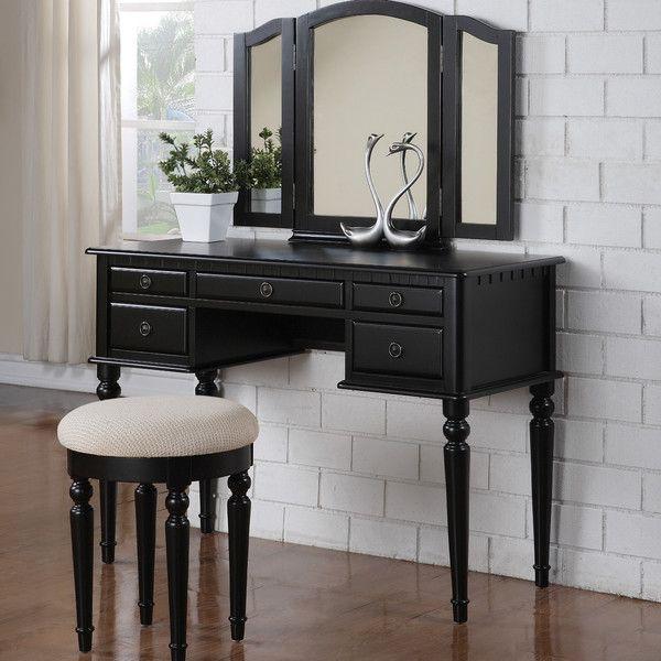 Simple Bedroom Vanity best 25+ black makeup vanity ideas only on pinterest | makeup room