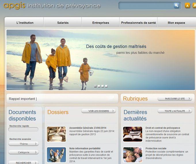 """Retrouvez les informations sur la mutuelle santé """"obligatoire"""" APGIS (site : apgis.com) comme les avantages et inconvénients ainsi que notre avis!"""