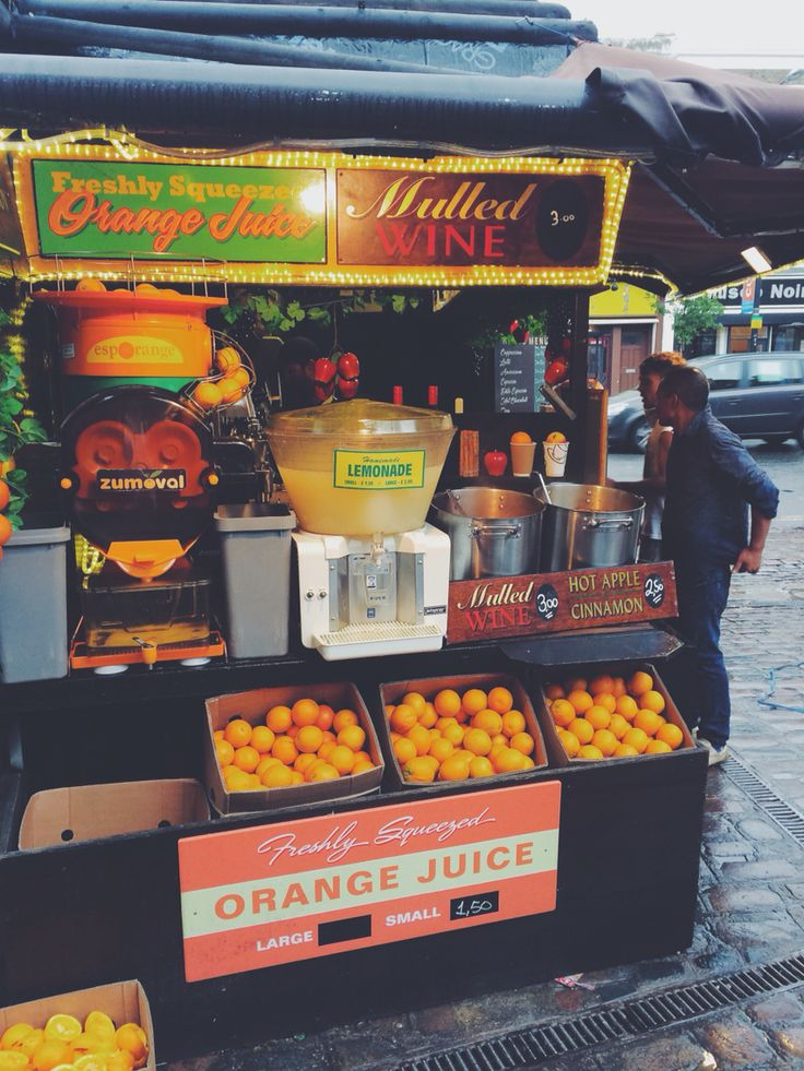 Orange juice streets of camden