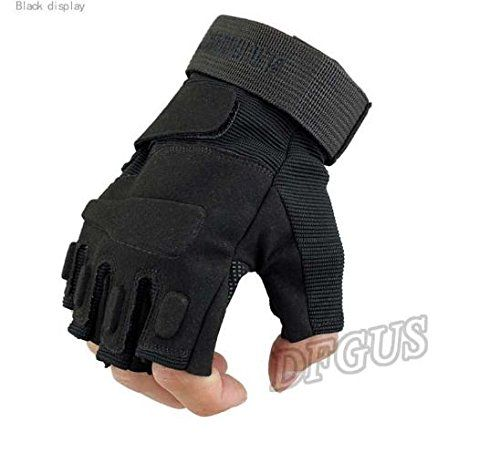 blackhawk hell storm usa special forces tactical gloves slip outdoor Men fighting fingerless gloves PC003