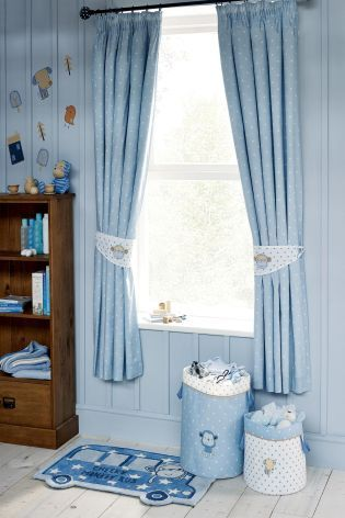 Cheeky Monkey Pencil Pleat Curtains From The Next Uk Online