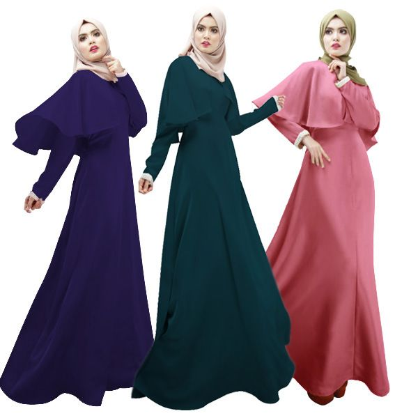 Plus Size Islamic Clothing Abaya Dress Fashion Muslim Dresses Cloak Women Long Dress Elegant Arab Garment Abaya Turkish