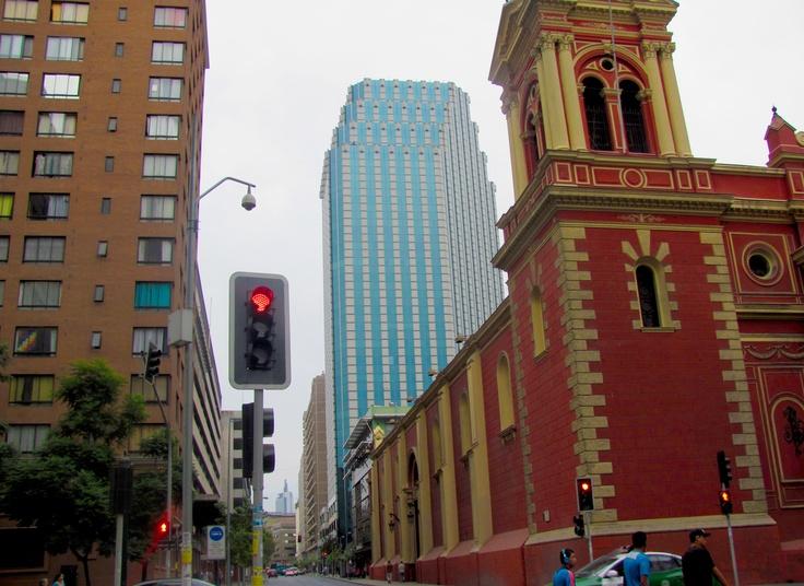 Postales de Santiago, Chile.