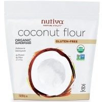 wonderful coconut flavour - replace some of the flour in your baking. iHerb discount code QOC222