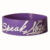 Speak Now purple bracelet