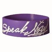 Speak Now purple bracelet