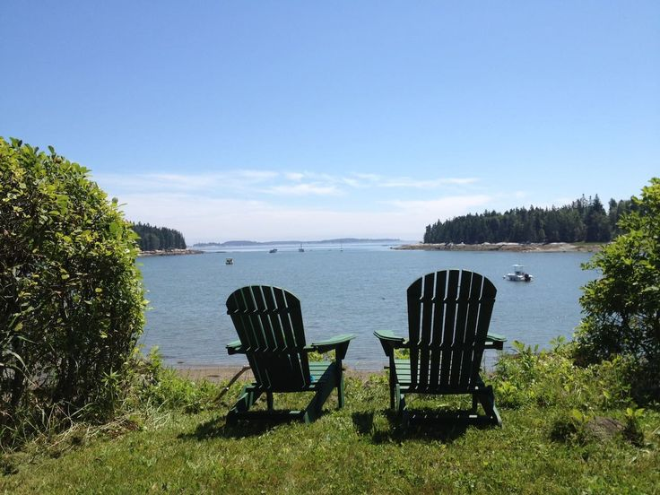 in Owls Head, Maine. Our two bedroom one bath ocean front cottage is tucked away on a private road in Owls Head, ME.  Private beach with great views of Muscle Ridge Chanel.  Close to  food and art in Rockland and Camden.  Interior is dated, but clean and comfortable. ...