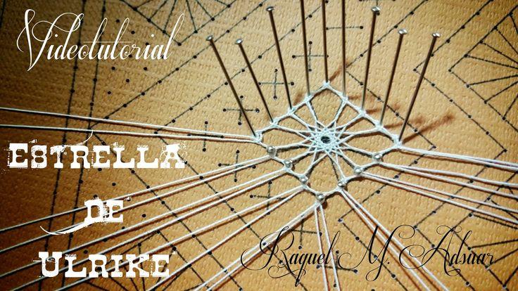 En este videotutorial os enseño a realizar la estrella de Ulrike, una de las arañas de encaje más bonitas que existen. Espero que os guste!!! https://www.fac...