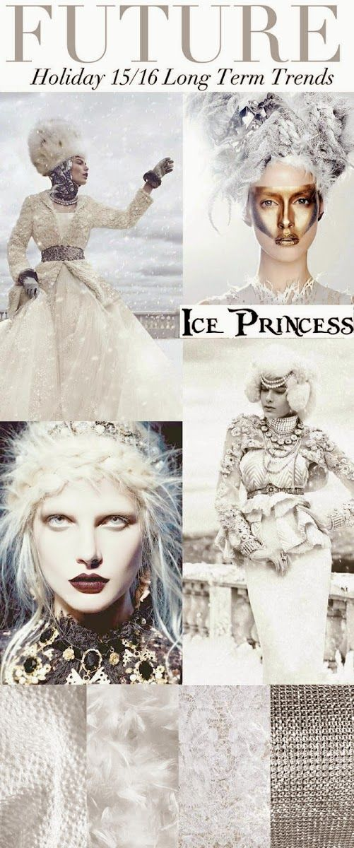 FASHION VIGNETTE: TRENDS // TREND COUNCIL - HOLIDAY 2015-16 . ICE PRINCESS
