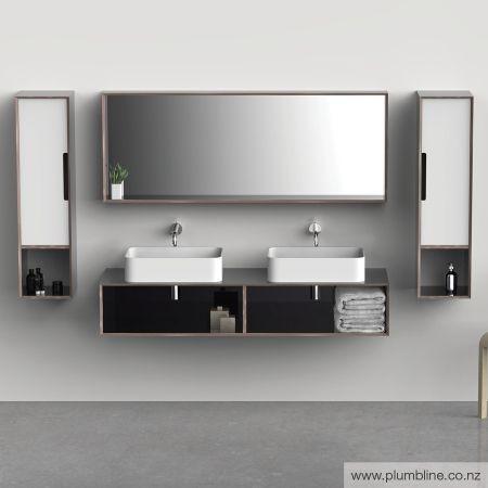 Ply25 1500 Open Shelf Vanity - Bathroom Furniture - Bathroom