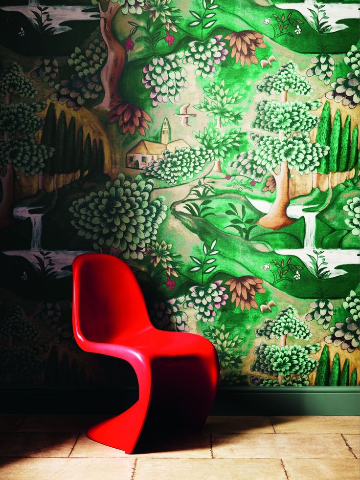 Verdure by Zoffany : Wallpaper Direct
