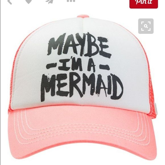 ISO Billabong hat Looking to buy this Maybe iM a Mermaid Trucker hat Billabong Accessories Hats