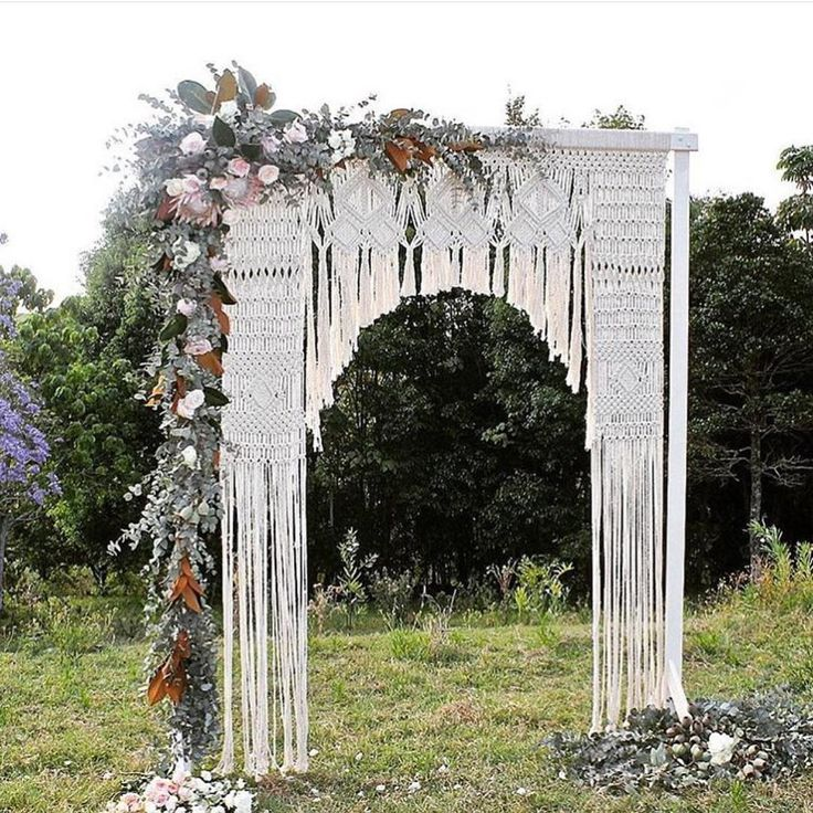 216 best FLORAL ARCHES & BACKDROPS images on Pinterest | Weddings ...