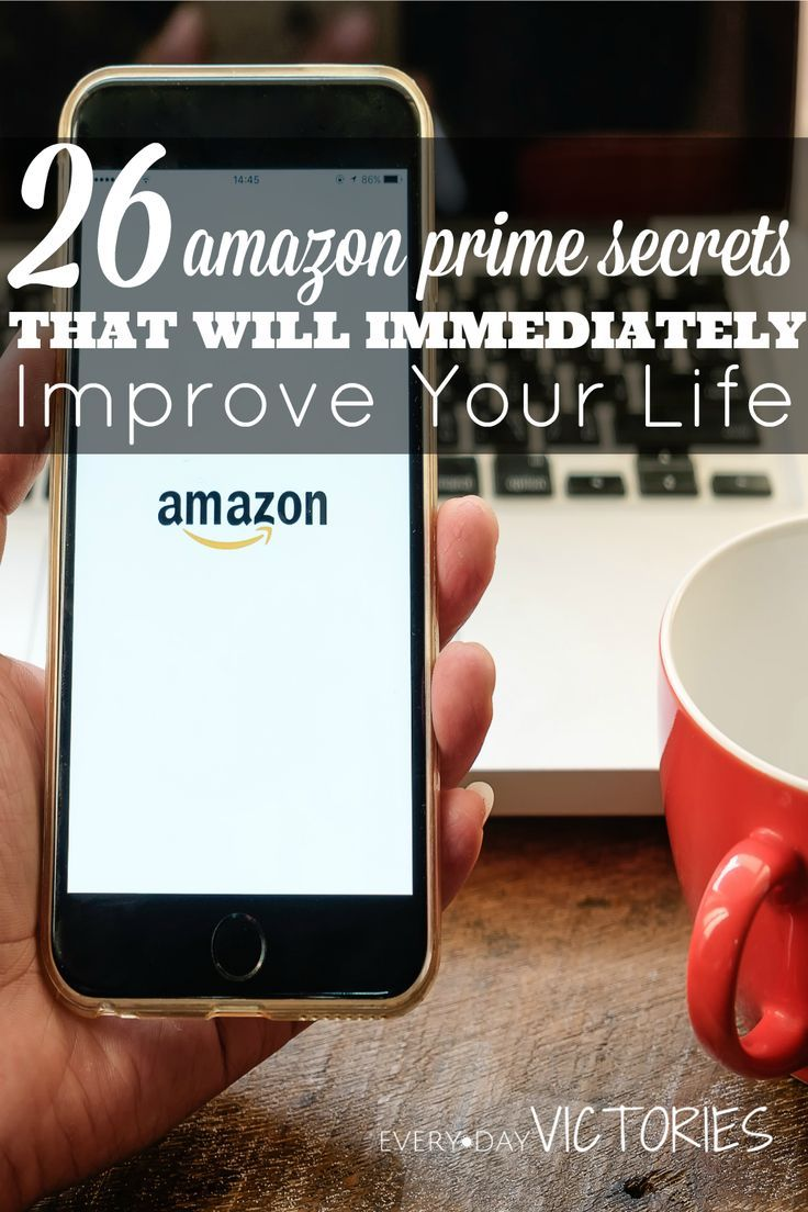 So many of these 26 amazon prime secrets I never knew about! When I became I true user, I immediately saved time and money despite the annual fee. Be sure to check out #17: Cheaper than Netflix and #25: Yoga.