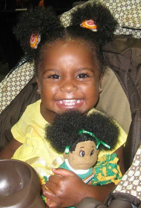 black children hair