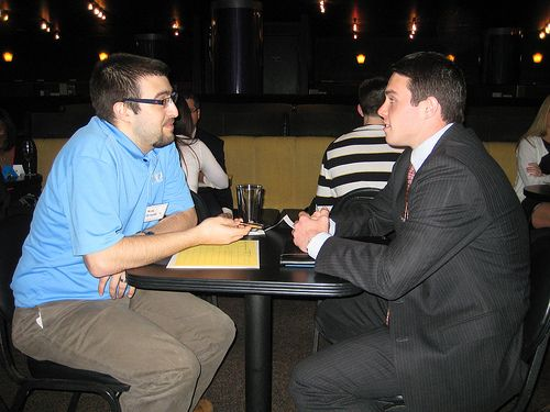 Student and Alumni Speed Networking 2013
