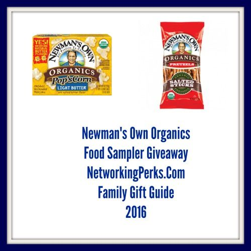 Enter #ad to WIN Newman's Own Organic Food Package Giveaway http://bit.ly/2fwD9Kk