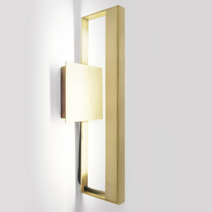 New LED Brass Sconce debut at #ICFF2014