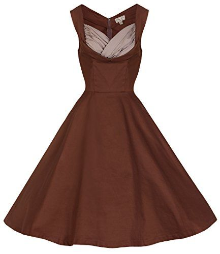 Apparel: Lindy Bop 'Ophelia' Vintage 1950's Prom Swing Dress  Buy Now: $61.99 (On sale from $79.99)